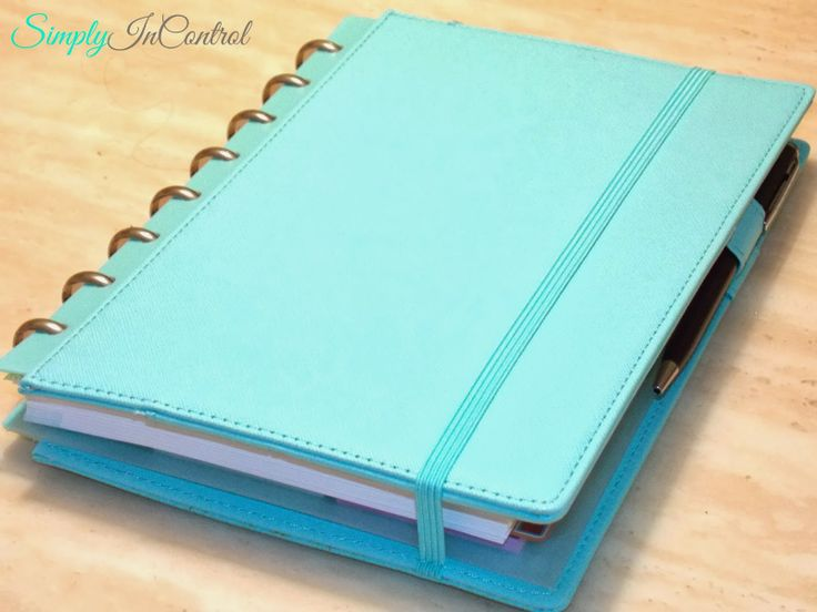 Martha Stewart 2014 Planner - in depth review and how I use my planner
