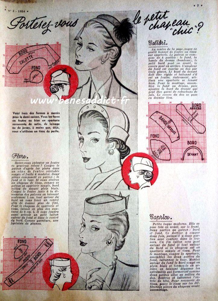 647 besten Vintage Patterns and Projects - Accessories Bilder auf ...