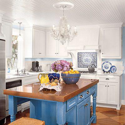 Kitchen Inspiration: Cottage White Kitchen - Kitchen Inspiration - Southern Living