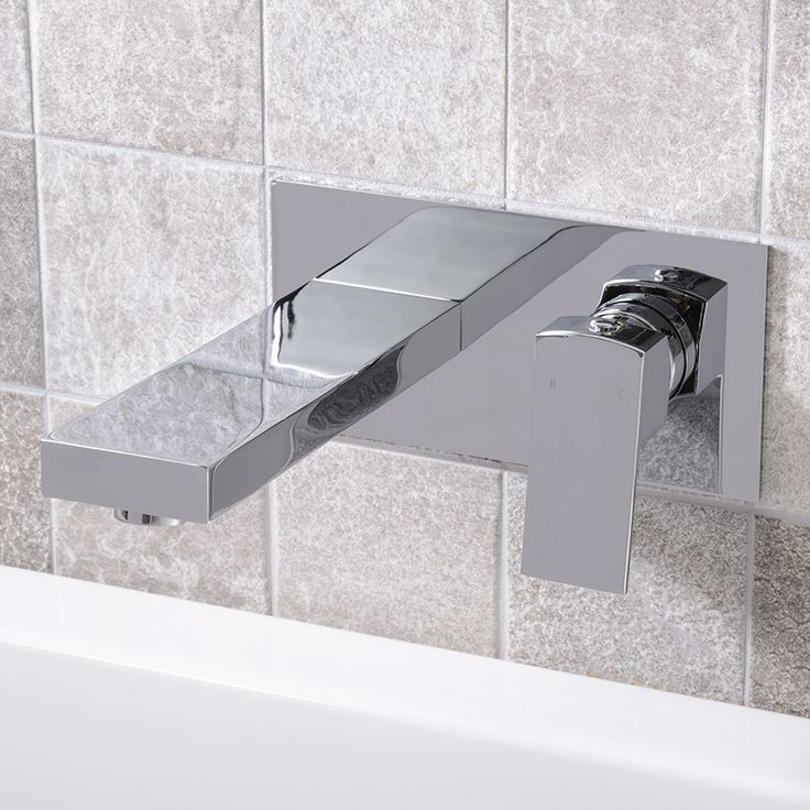 Wall Mounted Taps - Modern Bath Shower Mixer Tap, Basin Mixers