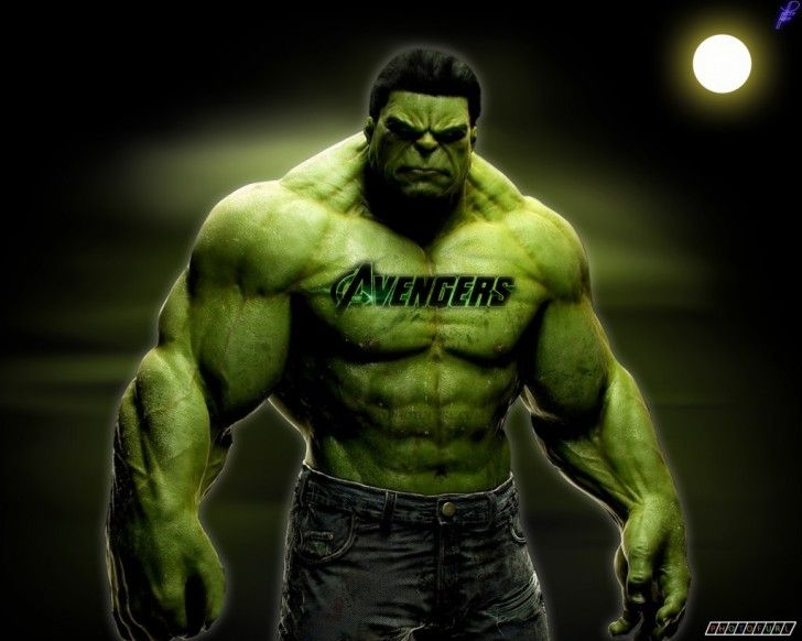 hulk wallpaper : Hulk Incredible Avengers Movie