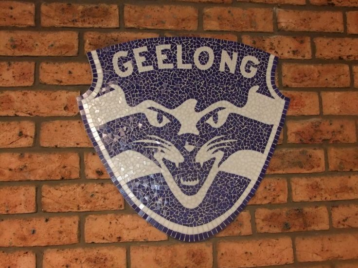 Mosaic Geelong Cats