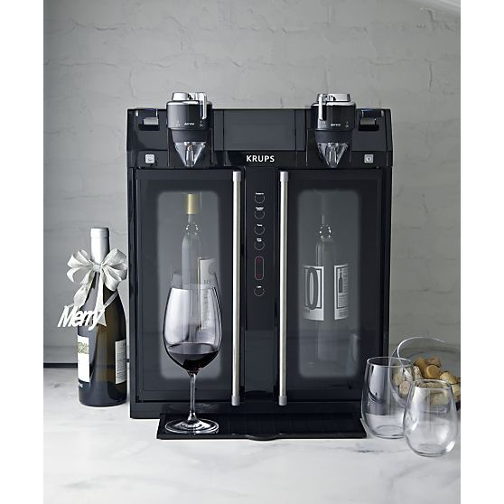 Krups® Wine Dispenser in Specialty Appliances | Crate and Barrel