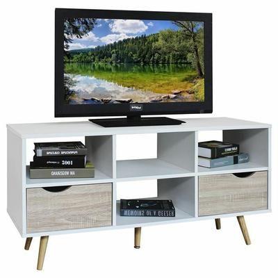 Les 25 meilleures id es de la cat gorie meuble tv blanc for Banc tv blanc et bois