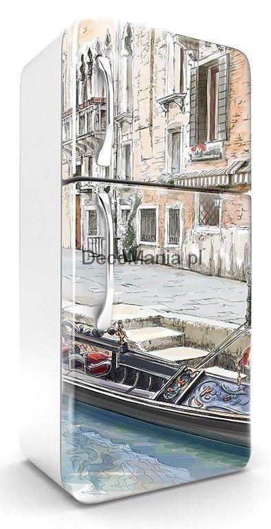 Naklejka na lodówkę NL191 - Wenecka gondola