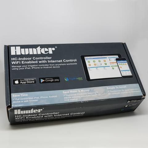 NEW IN BOX Hunter HC-1200i Hydrawise Touch Screen Smart Wifi Enabled 12 Zone Sprinkler Controller