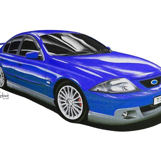 Ford FTE TE50 T3 Narooma Blue #ford #falcon #pencil #pencilsketch #artwork #drawing  #carart #cardrawings #automotiveart #australiancar