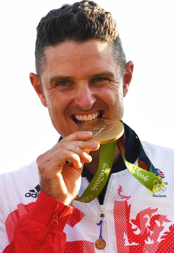 Justin Rose - Rio 2016 Olympics Gold Medalist