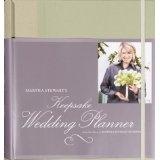 Martha Stewart's Keepsake Wedding Planner (Ring-bound)By Martha Stewart