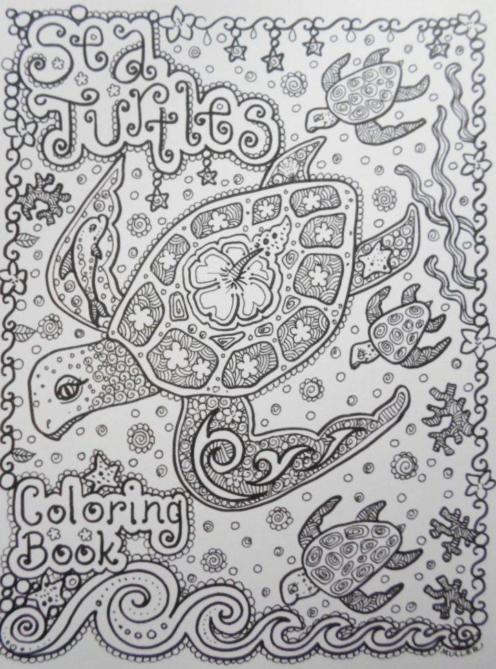 F rbung Buch Meeresschildkr ten