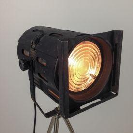 Industriele Theaterlamp, spotlamp uit Italië.