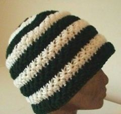 crochet star stitch hat Crochet Pinterest