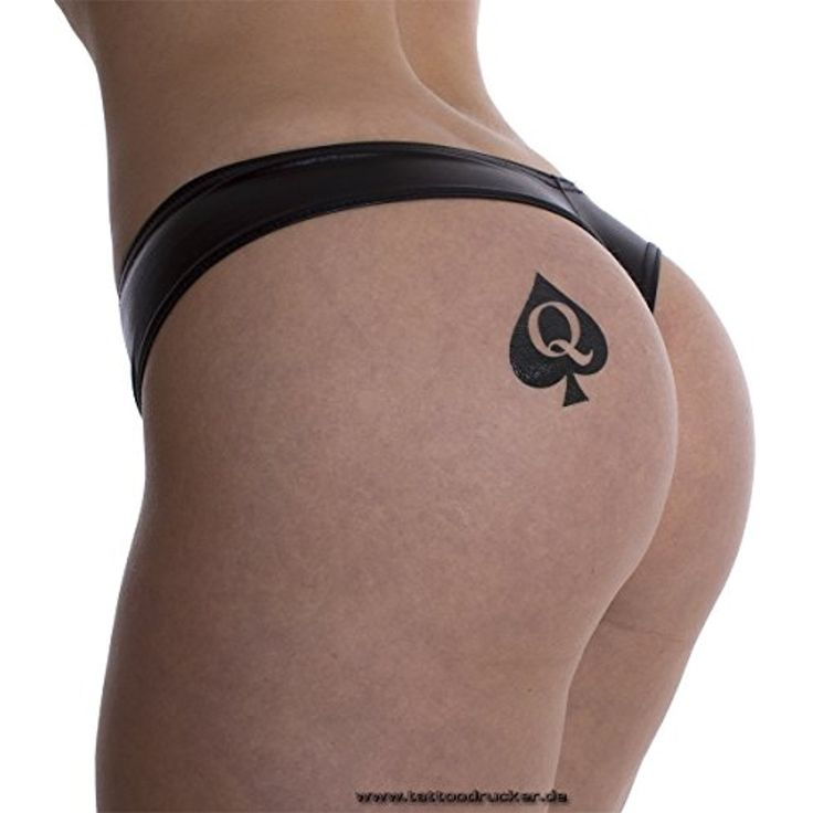 15 x Queen of Spades Tattoo in black - Hotwife Tattoo - BBC - temporary Tattoo *** Find out more about the great product at the image link. (This is an affiliate link and I receive a commission for the sales) #TemporaryTattoos