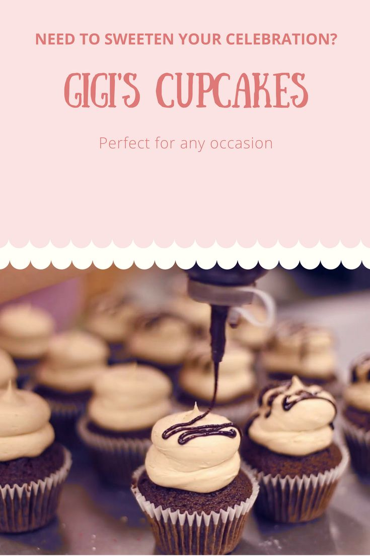 Check out Gigi's Cupcakes prices & delivery options and choose the best ones for your special day! #cupcakes