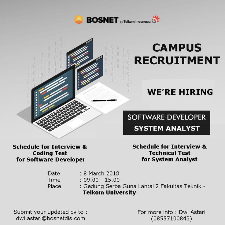 Bosnet Distribution Indonesia is LOOKING for Software Developer and Solution Designer (System Analyst/Business Analyst) >> http://bit.ly/2oKYaYs   DEADLINE: 8 March 2018 #itbcc #karirITB #ITBcareer