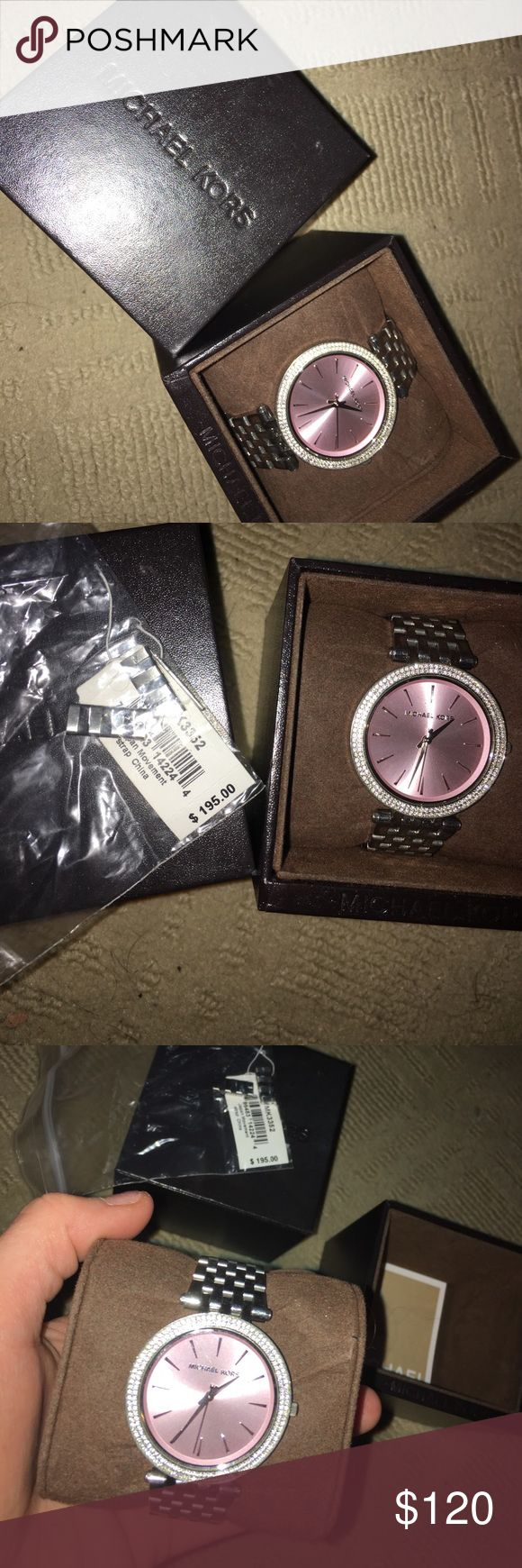 Women's Michael Kors Darci Watch NWT!!! Received as a Christmas present and I have never worn the watch, it is brand new and has the tags still in the box. Michael Kors Accessories Watches