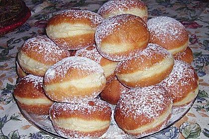 Berliner Pfannkuchen, ein sehr schönes Rezept aus der Kategorie Backen. Bewertungen: 68. Durchschnitt: Ø 4,2.