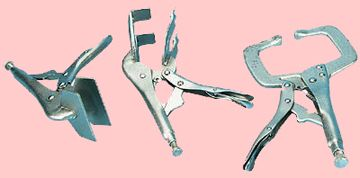 Welding Shop Tools - chipping hammer, clamps and more...