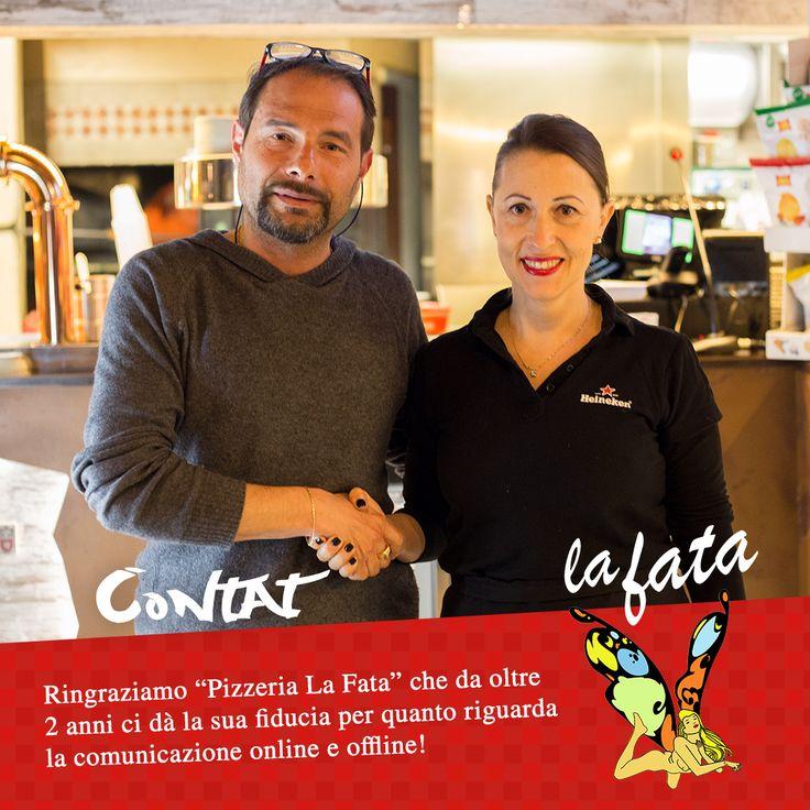Vogliamo ringraziare Annarita Trozzi e la sua attività, Pizzeria La Fata, per la fiducia che ci dà da oltre 2 anni! #pizzerialafata #buonlavoro