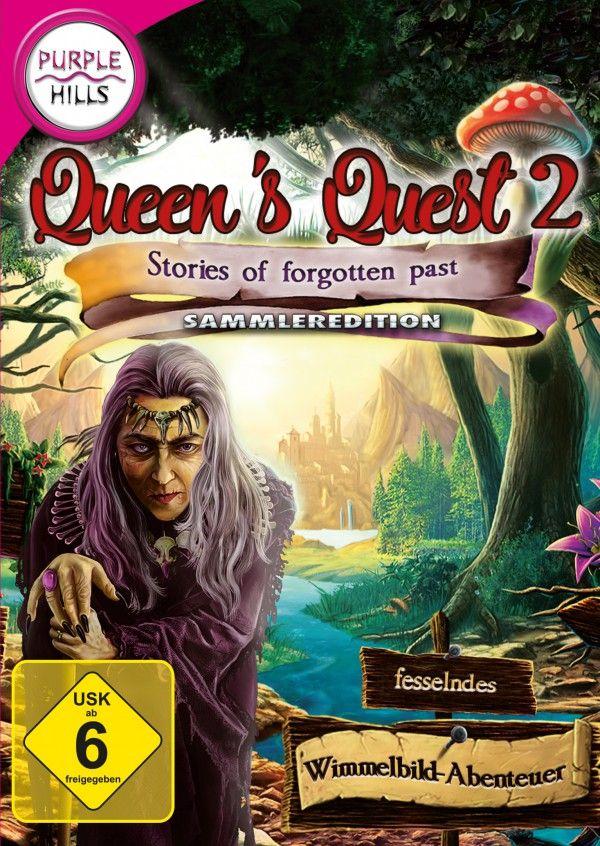 Queens Quest 2. Der König bittet Dich in diesem wunderschönen Wimmelbild-Abenteuer Queens Quest 2 - Stories of forgotten past, den Mord an Deinem vertrauenswürdigsten Agenten und Freund aufzuklären, denn es scheint, als steckt ein einfaches Verbrechen aus Leidenschaft dahinter - doch absolut nichts ist so, wie es zu sein scheint! Schnell wirst Du merken, dass Du niemandem vertrauen solltest...