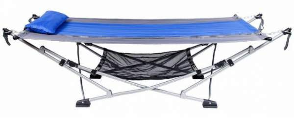 Mac Sports Fold Up Hammock Shown Without Canopy This Is How It Would Be Used In A Tent