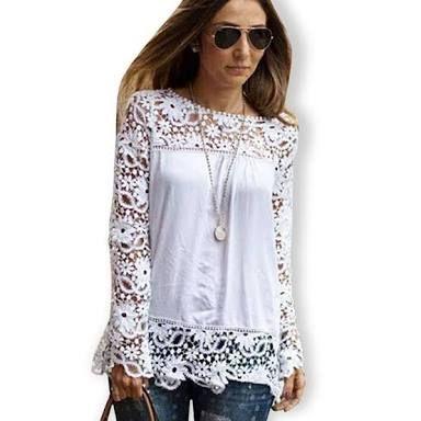 Resultado de imagem para blusas bordadas