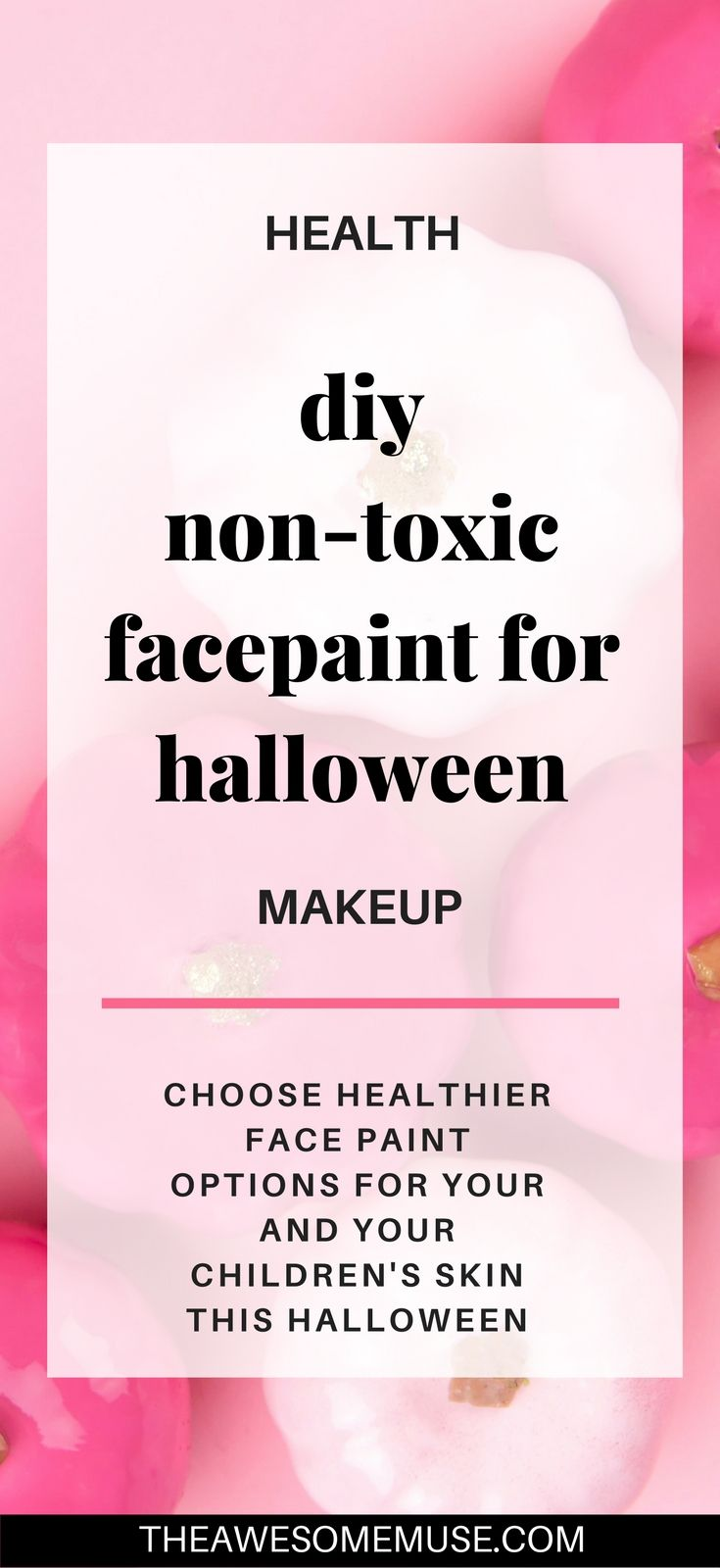You can make non-toxic face paint easily yourself with this simple recipe diy. non-toxic face paint | face paint recipe | make face paint | facepaint for football games | how to make facepaint | facepainting ideas | facepaint halloween | facepaint ideas for kids | face painting easy | face painting adults