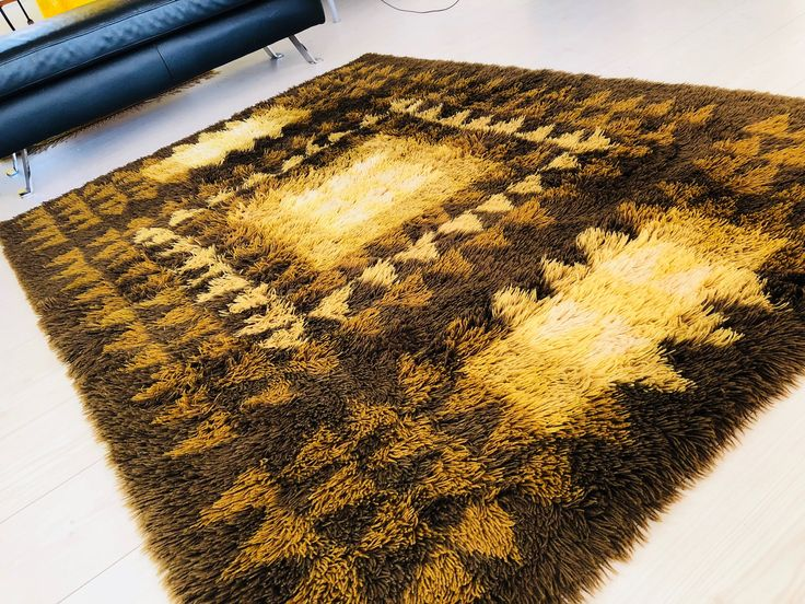 A personal favorite from my Etsy shop https://www.etsy.com/se-en/listing/573795168/modernist-vintage-wool-rya-rug