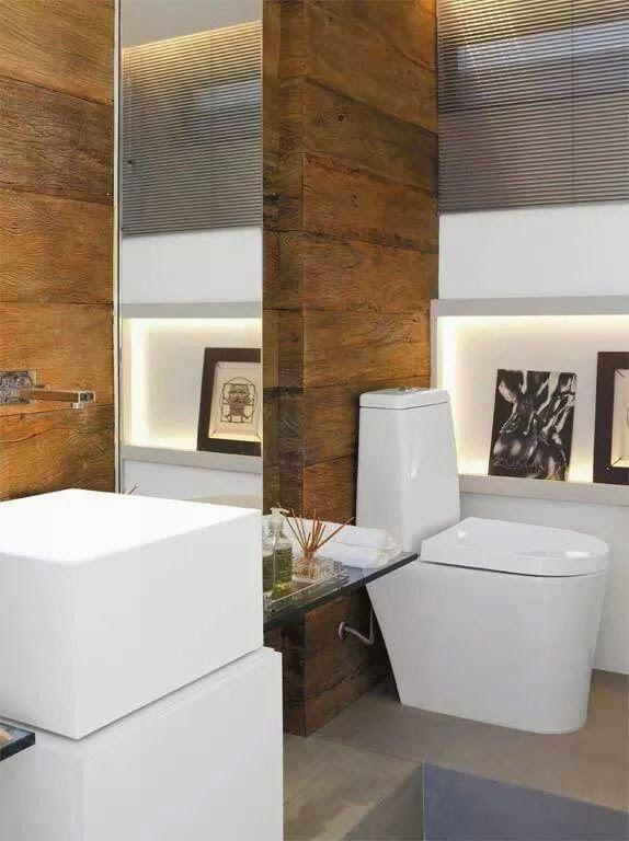 Jeito de Casa - Decoração http://www.jeitodecasa.com/2014/12/12-banheiros-e-lavabos-com-porcelanato.html
