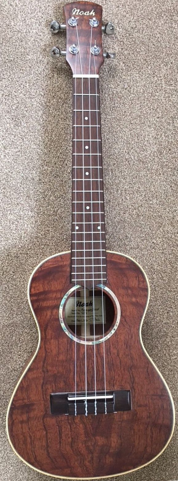 Noah Mahogany Tenor Ukulele (from the workshop of Tổn Thất Anh via Saigon Guitars based in Brighton) --- https://www.pinterest.com/lardyfatboy/