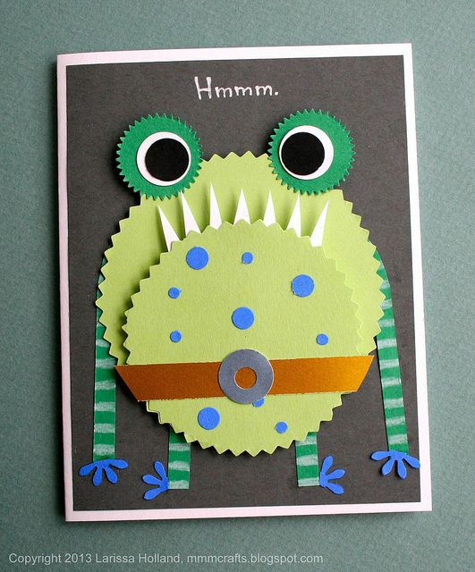 Monster card for Jedi Clark | Flickr - Photo Sharing!