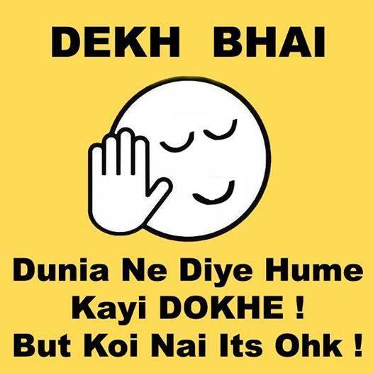 Dekh bhai!