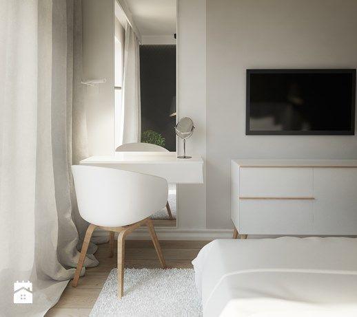 Toaletka w sypialni - zdjęcie od Karolina Krac architekt wnętrz