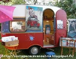 44 best images about au jardin caravane on pinterest tom collins the fl - Peindre une caravane ...