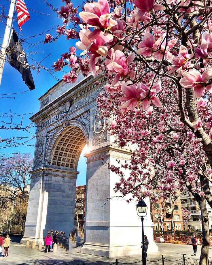 New York City Feelings - Washington Square Park by @scottlipps