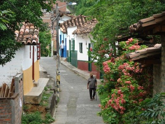 Quiet lanes of Santa Fe de Antioquia