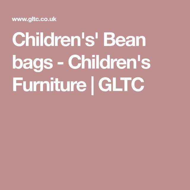 Children's' Bean bags - Children's Furniture | GLTC