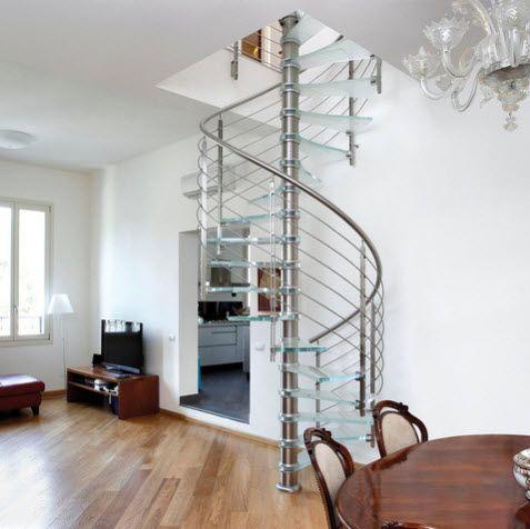 17 mejores ideas sobre escaleras en caracol en pinterest - Escaleras de peldanos ...