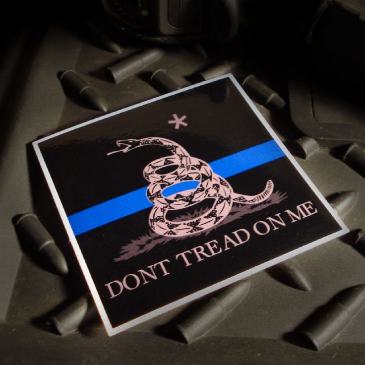 The Gadsden Thin Blue Line Decal by The Tactical Gentleman!