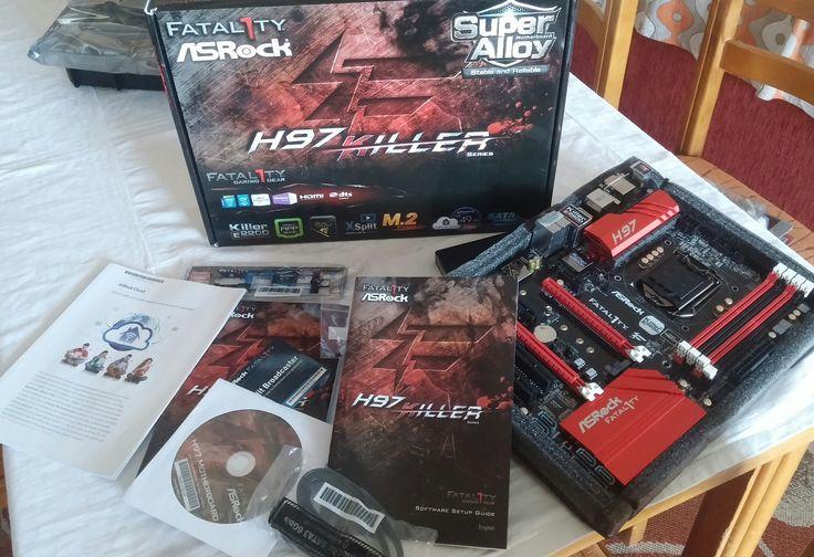 ASRock Fatal1ty H97 Killer Intel H97  https://www.facebook.com/PCWhisperer.gr
