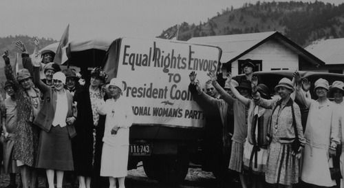To understand the 1964 Civil Rights Act we need to go a little further back to the National Woman's Party. The NWP and its firebrand leader – Alice Paul – had been a motivating force behind women's suffrage, achieved with the 19th Amendment. Since the 1920s, they'd been fighting for an Equal Rights Amendment to the US Constitution, and more legal equality for women in all walks of life. How are you carrying out Alice Paul's legacy today? www.alicepaul.org/ @AlicePaulInstit