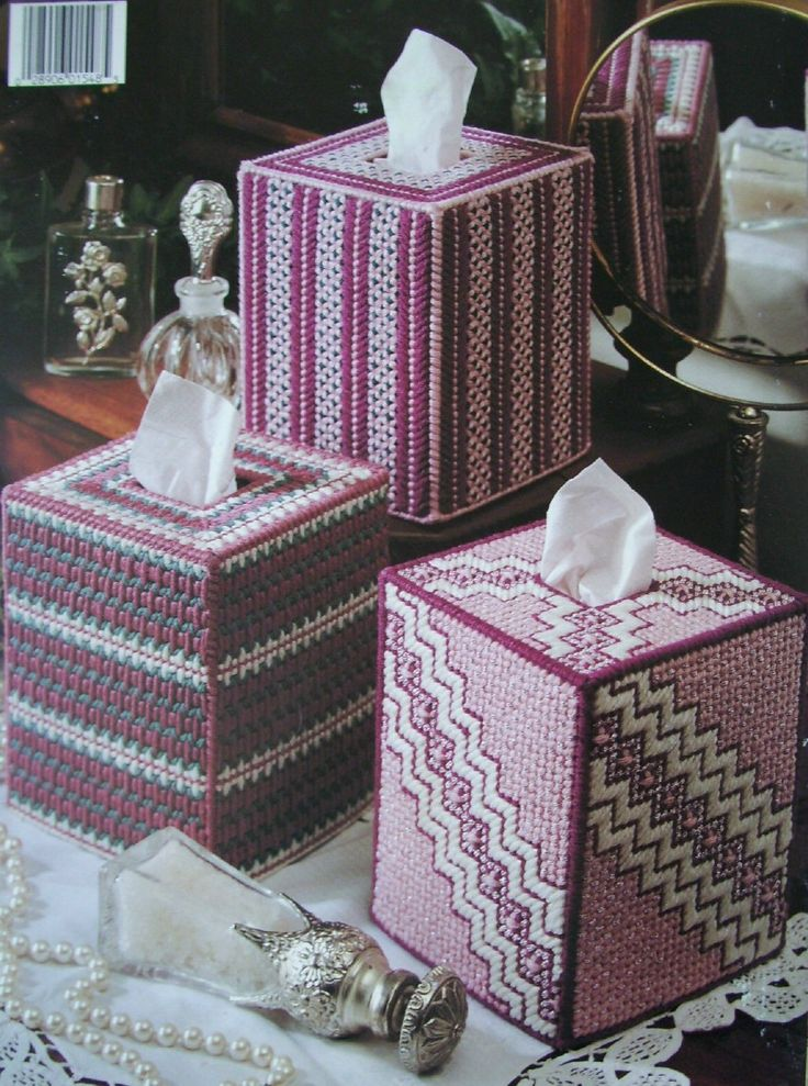 Plastic Canvas Tissue Box Patterns   More Pretty Patterns IN Plastic Canvas Pattern Leaflet 6 Tissue BOX ...I have these patterns at home. They are beautiful Sorry no pattern available, this is for inspiration only