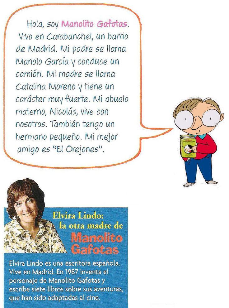 Manolito Gafotas se presenta | En la sombra de la profesora de español