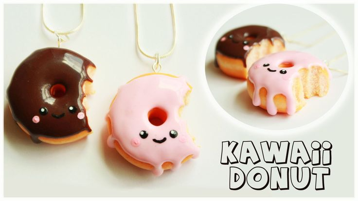 Hi guys, in this tutorial I'm going to show you how to make polymer clay KAWAII donut/doughnut.I hope you're going to like it!Please subscribe for more tutor...