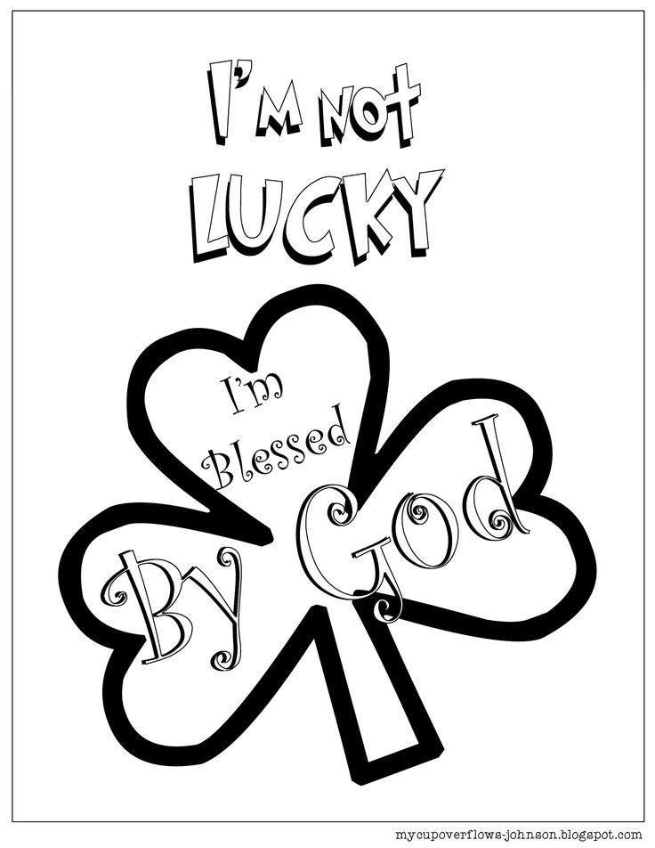St. Patrick's Day Coloring Pages Coloring Pages Sunday