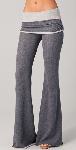 I WANT. They look SO comfortable. But I'd never pay that price for a pair of pants!