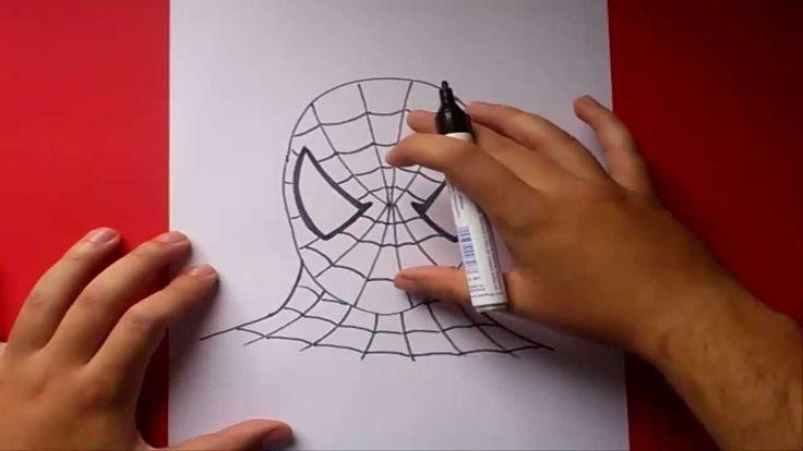 Como dibujar a Spiderman paso a paso | How to draw Spiderman