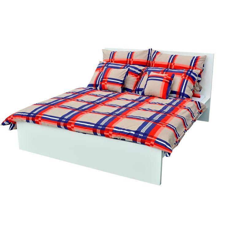 Holey Quilt obliečky Bavlna Karo 140x200, 70x90cm