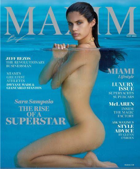 Sara Sampaio for Maxim magazine (United States) - May 2016.