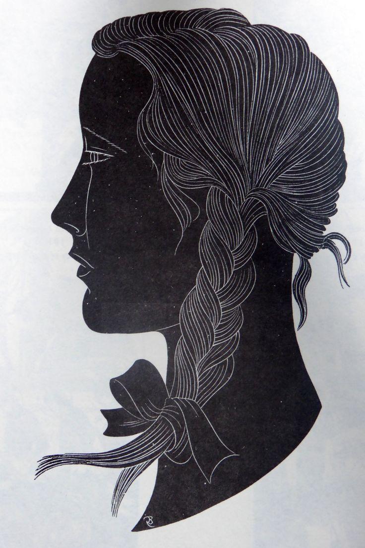 The Plait Portrait of Petra 1922